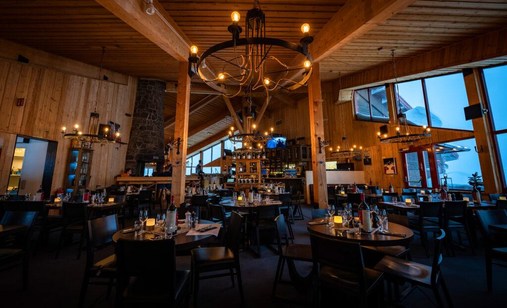 Restaurang Snögubben matsal