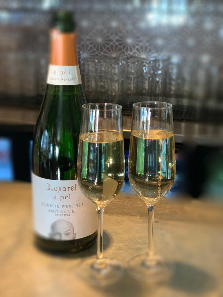champagne nyår